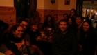 Cenando con los voluntarios de Greenpeace Cadiz
